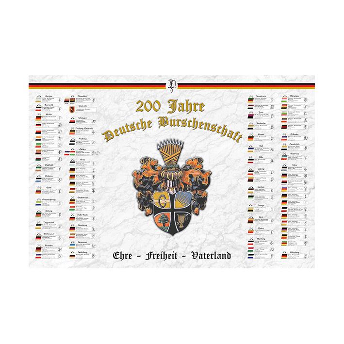 Wappentafel der DB (Digitaldruck)