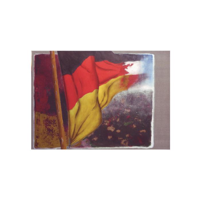 Deutschlandfahne (Kunstdruck)