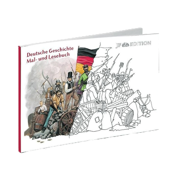 Deutsche Geschichte Mal- und Lesebuch