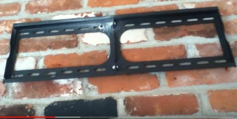Brick wall or Drywall/Sheetrock on metal studs