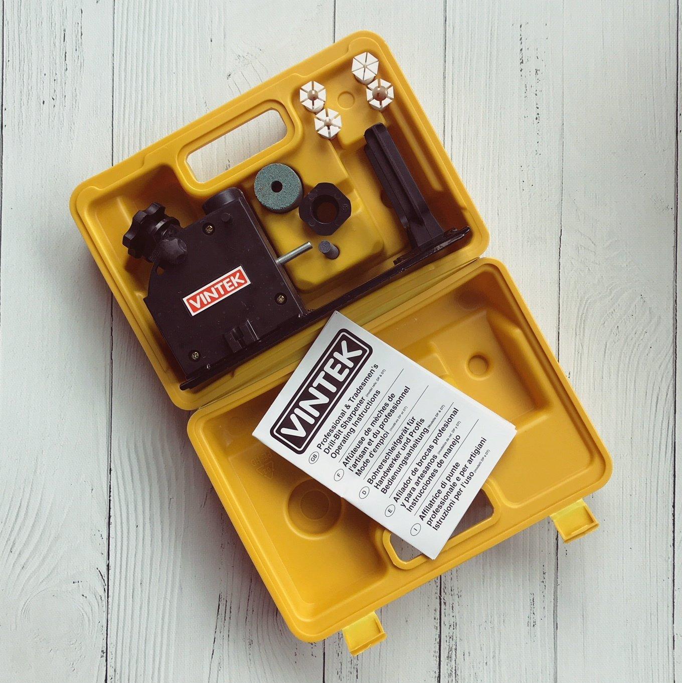 Vintek Professional Drill-Bit Sharpener