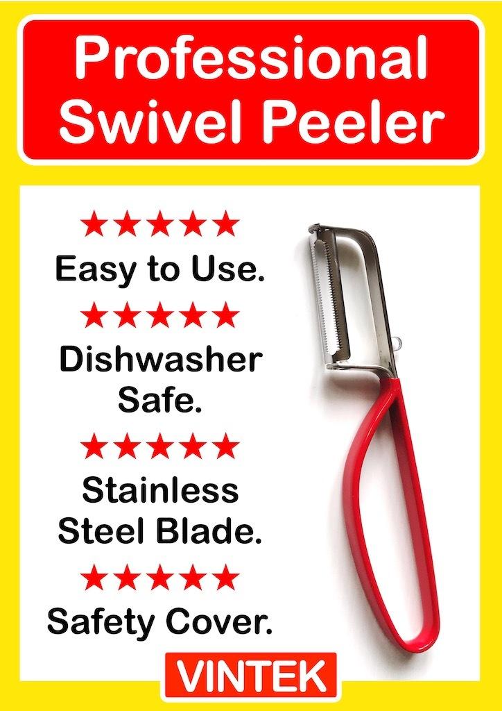 VINTEK Professional Swivel Peelers | *3 PACK*