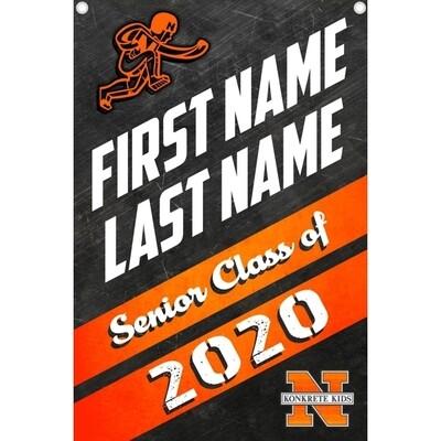 NHS Senior 2020 Customized Banner