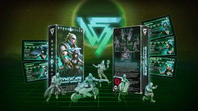 Hydrophilia presents:  Shadow Warriors - Syndicate Starter Set -