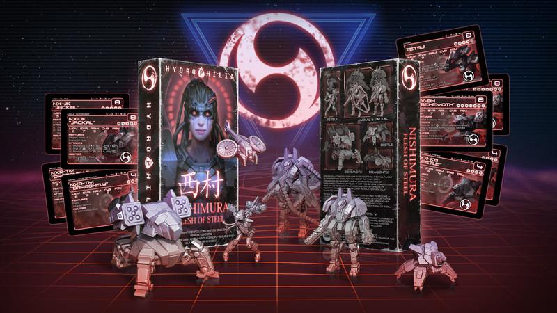 Hydrophilia presents:  Flesh of Steel - Nishimura Starter Set -