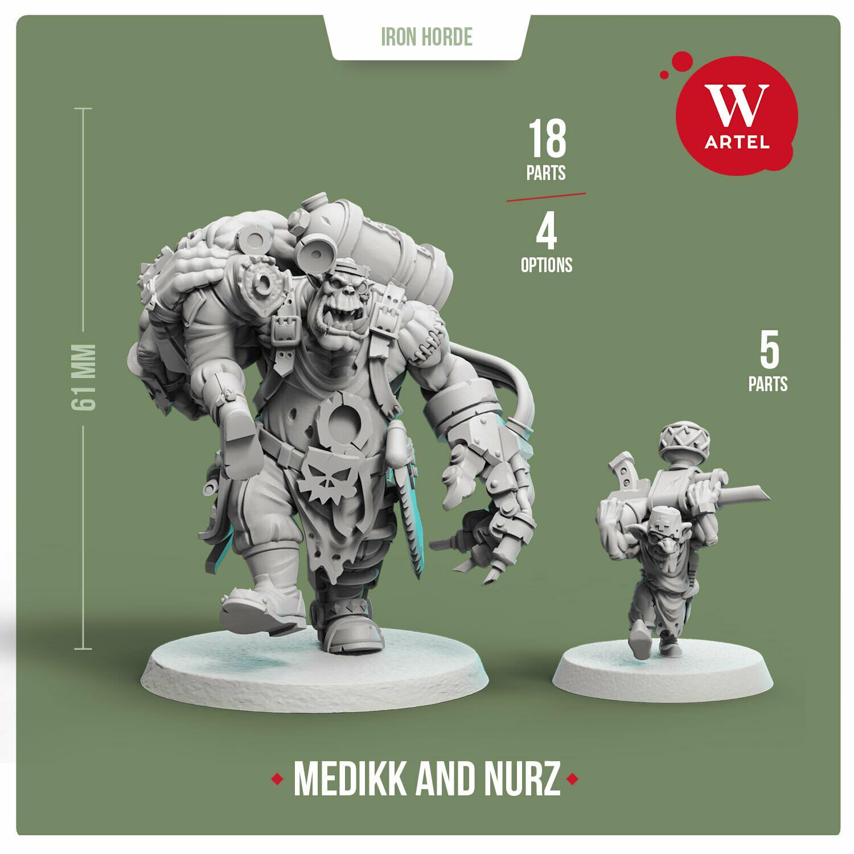 Medikk of Iron Horde (with Nurz)