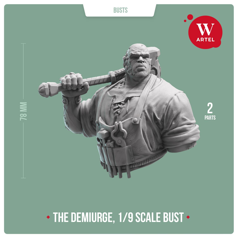 The Demiurge Bust