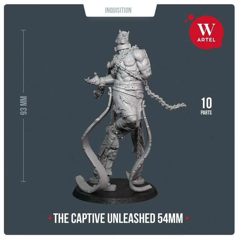 Captive Unleashed 54mm Edition
