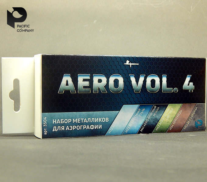 Metallic vol.4 set for airbrush