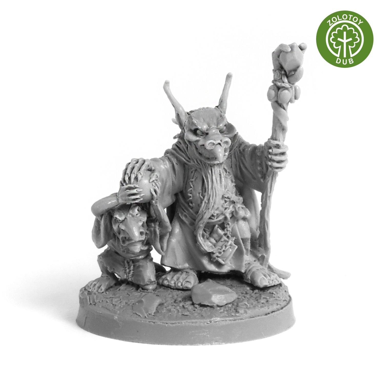 Goblin Sorcerer - by Zolotoy Dub-