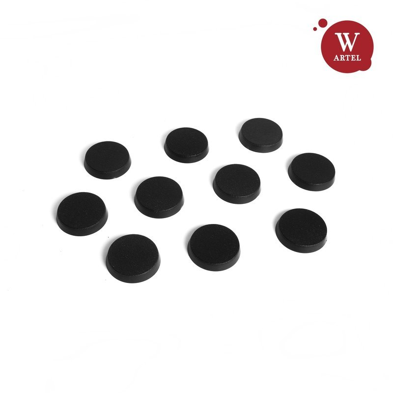 10x25mm round bases for miniatures