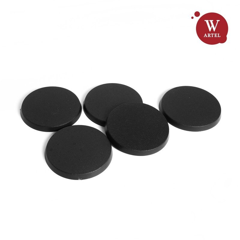 5x50mm round bases for miniatures