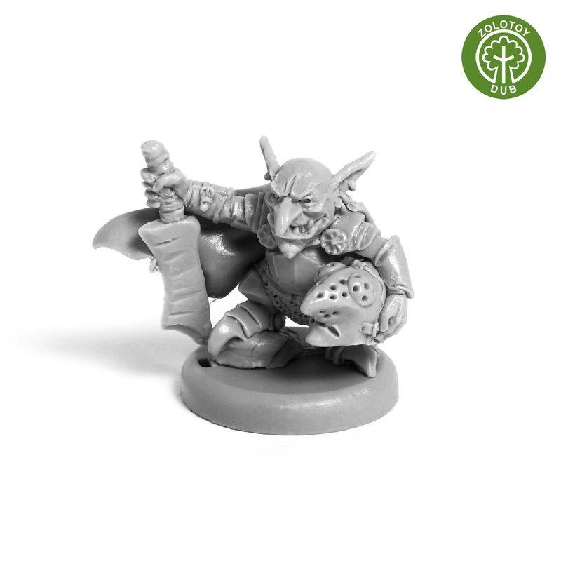 Chief of Goblins Mercenaries - by Zolotoy Dub-