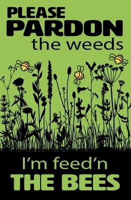 Feed the Bees - Green