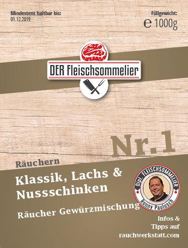 """Räucher- Gewürzmischung Nr. 1 """"Allrounder"""""""