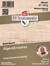 Räucher- Gewürzmischung Alpenkräuter