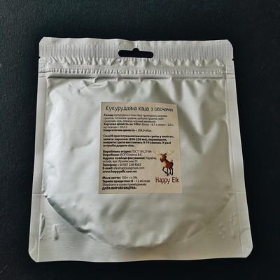 Кукурудзяна каша з овочами (упаковка для запарювання)