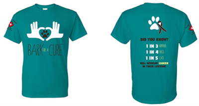 Bark For A Cure Teal Shirt