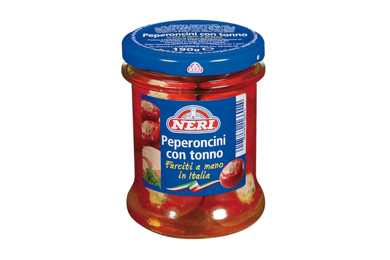 Peperoncini con tonno Neri