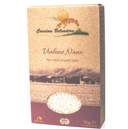 Riso Vialone Nano 1 kg Belvedere