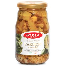 Carciofi arrostiti Iposea 530 g