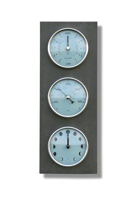 Moon, Tide Clock & Barometer - Vertical