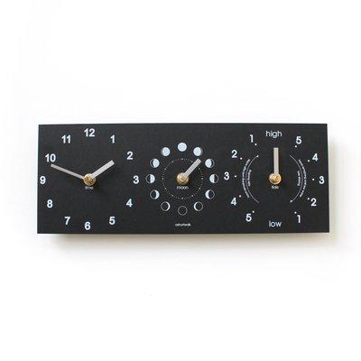 Moon, Time & Tide Clock