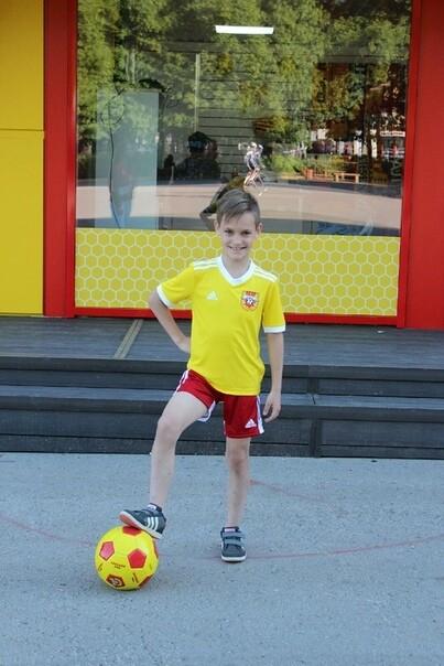 Детская игровая форма Adidas