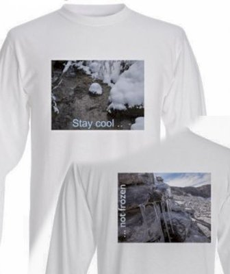 T-Shirt mit 2 Bildern