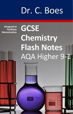 GCSE Chemistry Flash Notes AQA Higher Tier (9-1): Paperback