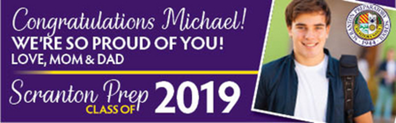 Congratulatory billboard message