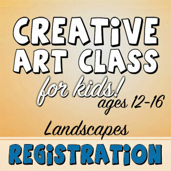 CREATIVE ART CLASS FOR KIDS! - Landscapes