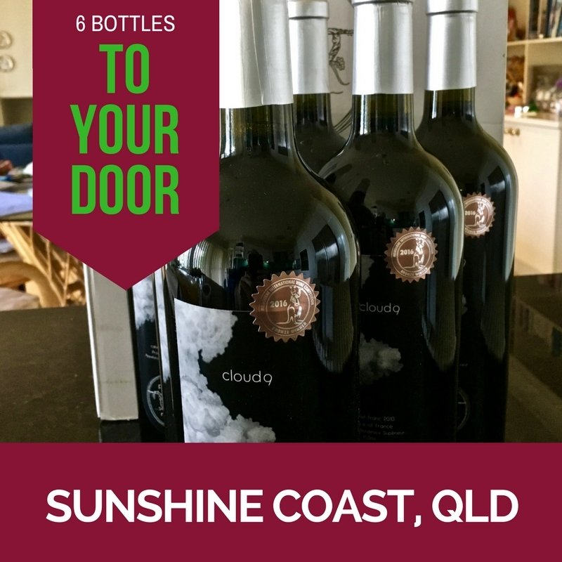 Sunshine Coast Delivery - Cloud9 2010 Bordeaux Cabernet Franc - Carton (6 bottles)