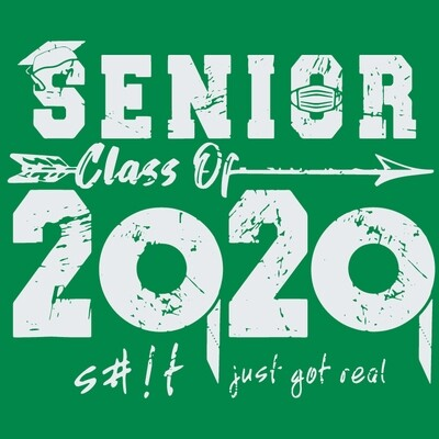 Senior Class Of 2020 S#!t Just Got Real Hoodie