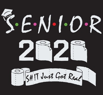 Class Of 2020 Senior S#!t Just Got Real Hoodie