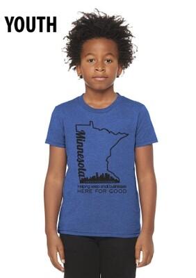 Here For Good Minnesota Soft Youth / Infant T-Shirt #HEREFORGOODMN