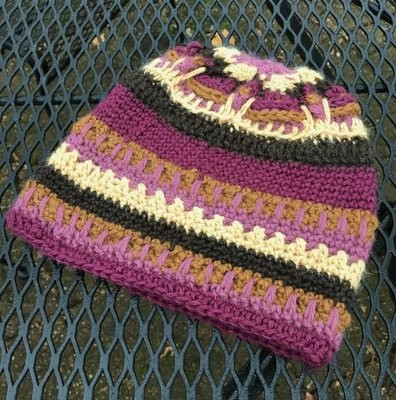Color Play Alpaca Hat