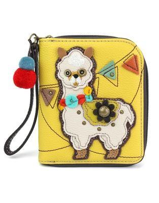 Alpaca Zip Around Wallet