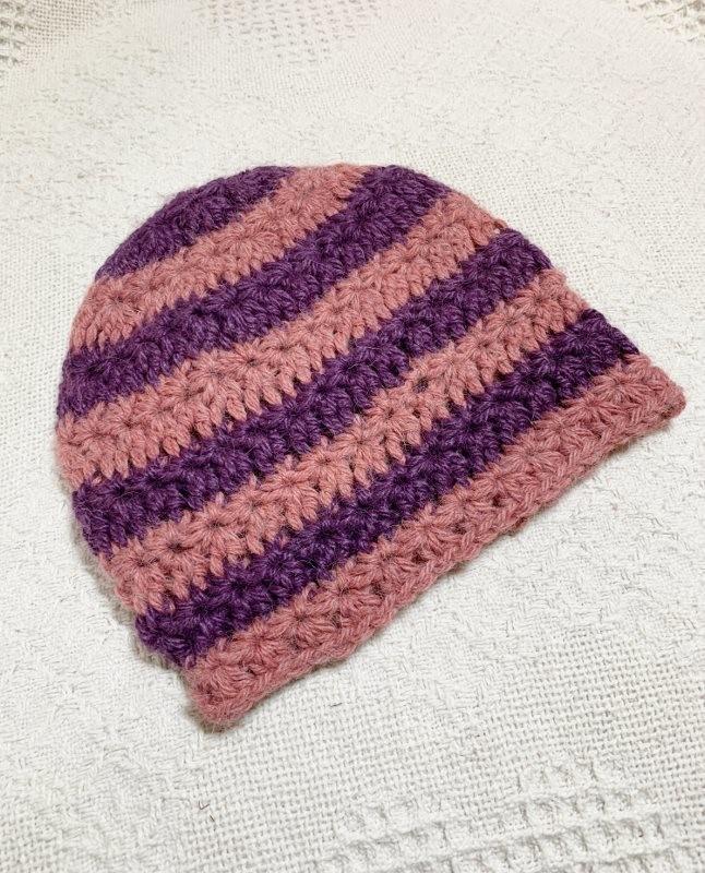 Star Stitch Alpaca Hat - 6-12 Months
