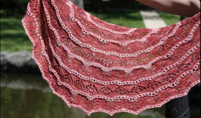 Gloxinia Shawlette Pattern