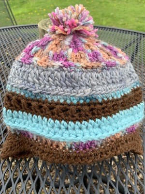 Handmade Alpaca Chullo Hat - 1-3 Years