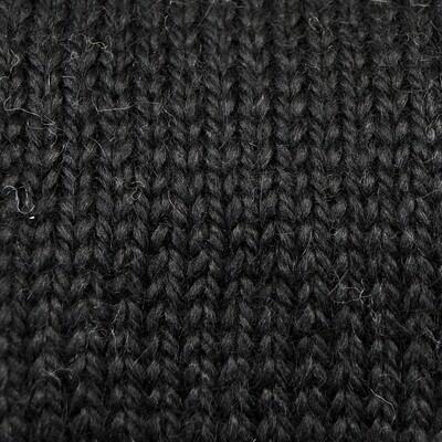 Snuggle Bulky Alpaca Blend Yarn - Black