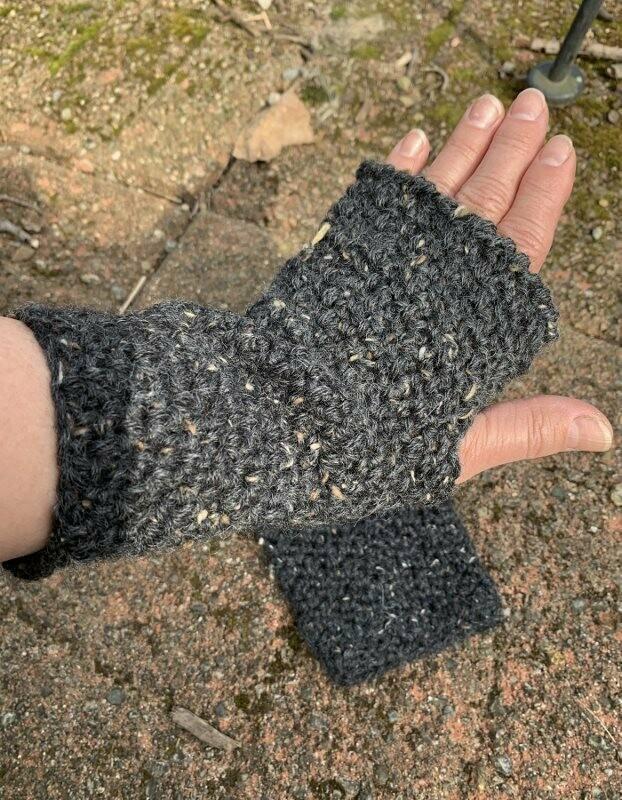 Stonehenge Fingerless Alpaca Gloves