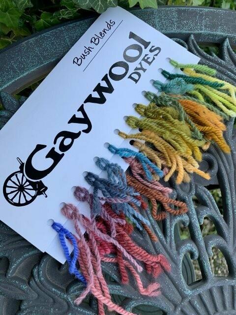 Gaywool Dyes - Bush Blends
