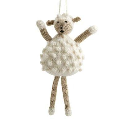 Alpaca Sheep Ornament