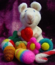 House Mouse Felting Kit