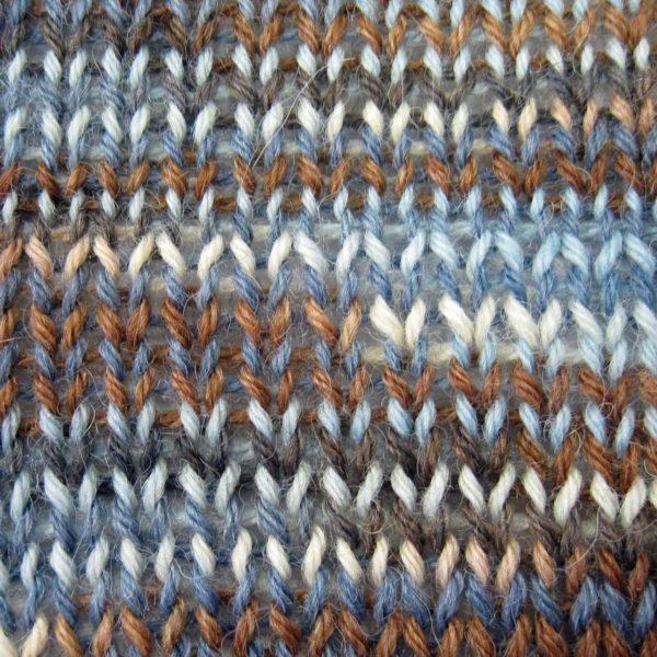 Alpaca and Superwash Wool Sock Yarn - Winter Woods
