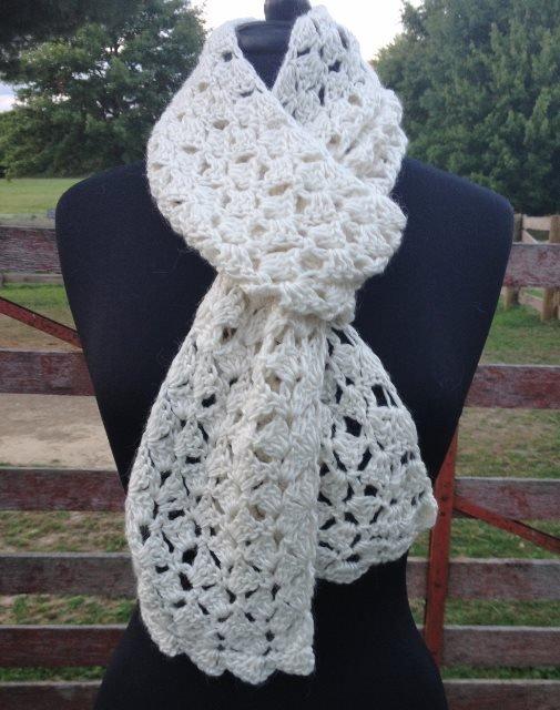 Spring Petals Scarf Crochet Class