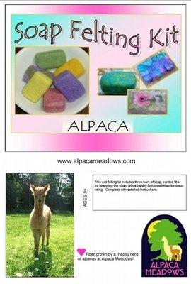 Alpaca Soap Felting Kit