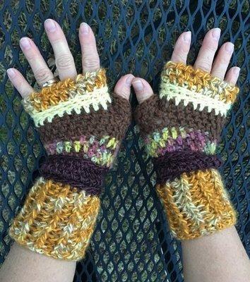 Fingerless Alpaca Gloves - Made to Order